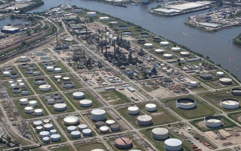 Gerüstbau-Vertragspartner Shell Terminal Hamburg