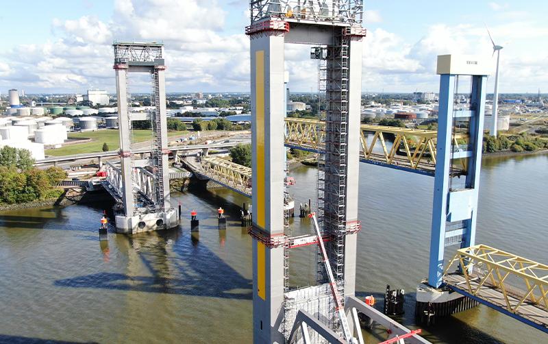 Neubau Kattwybrücke Hamburg
