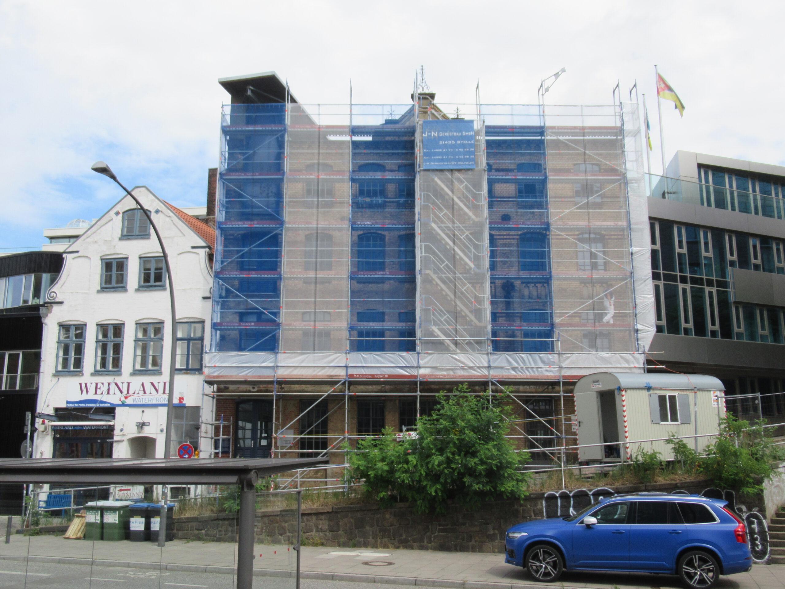 Fassadensanierung Große Elbstr. 146 in Hamburg